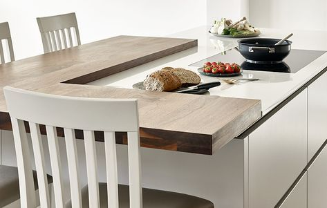 Best Walnut Cornforth White Kitchen Design Wimbledon 400 x 300