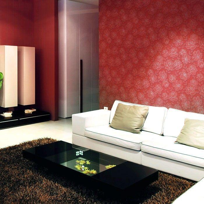 EDEM 910-33 Design Luxus Präge Vliestapete XXL koralle braun - wandgestaltung gothic