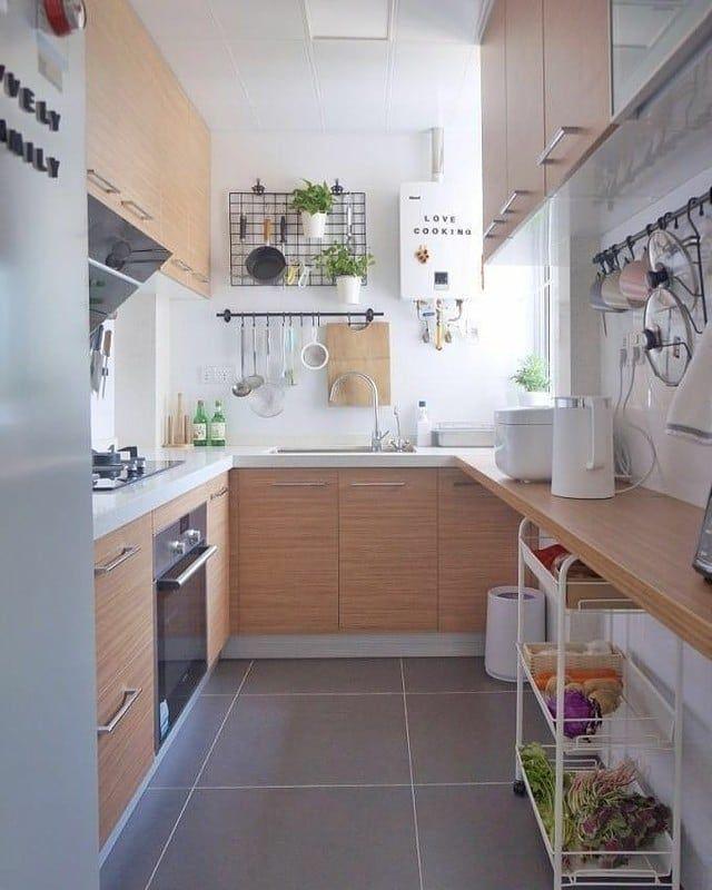 Dapur Idaman Follow Kumpulanrumahcantik Kumpulanrumahcantik Dapuridaman D Small Kitchen Design Apartment Kitchen Remodel Small Small Kitchen Decor