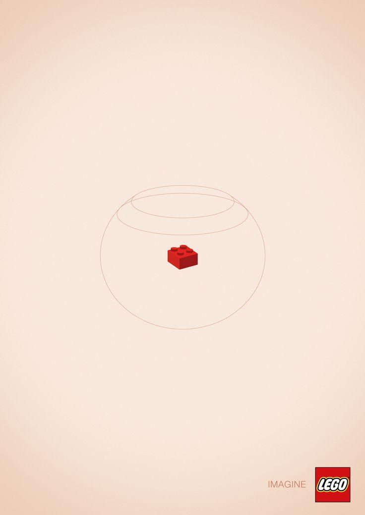 LEGO: Goldfish | Ads of the World™