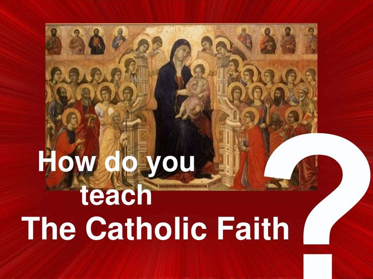 Catechism Classes Online - Catholic Religious Education