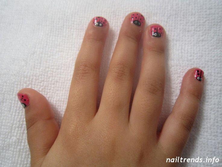 easy nails designs for kids - photo #34