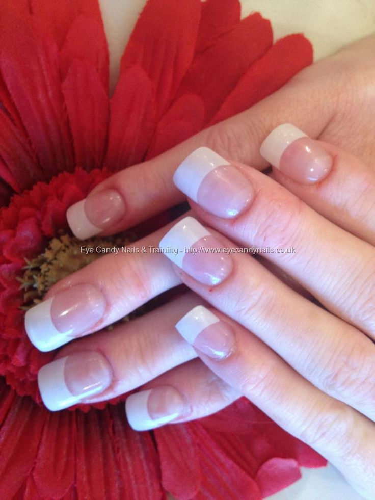 1000+ Ideas About Acrylic White Tips On Pinterest