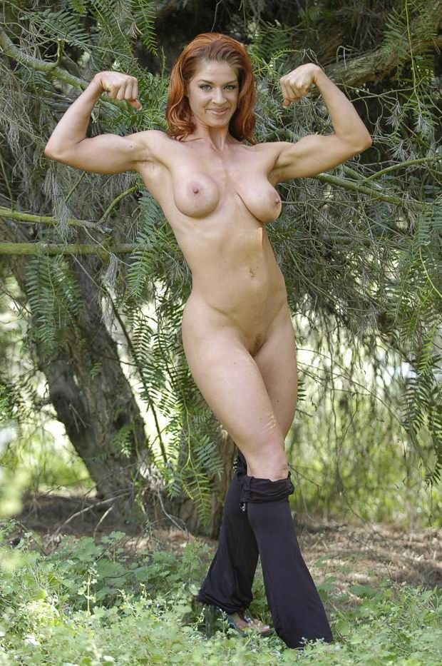Topless female russian muscle can consult