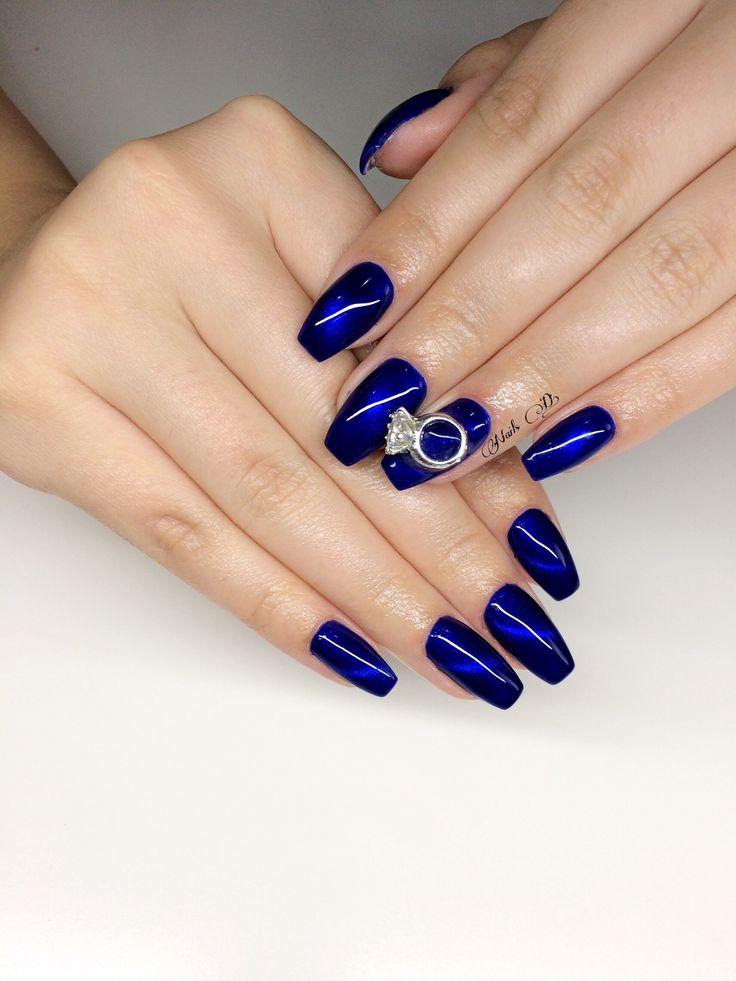 Design nails#a huge ring Nails#💏💍