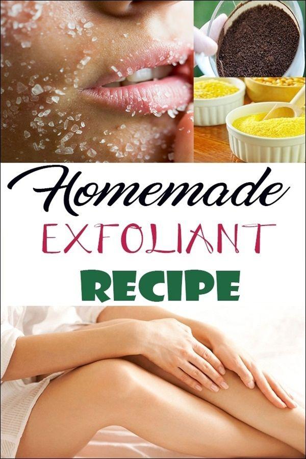 Homemade exfoliant recipe