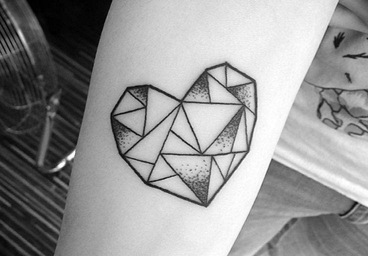 35 ideias de tatuagens geométricas para você copiar