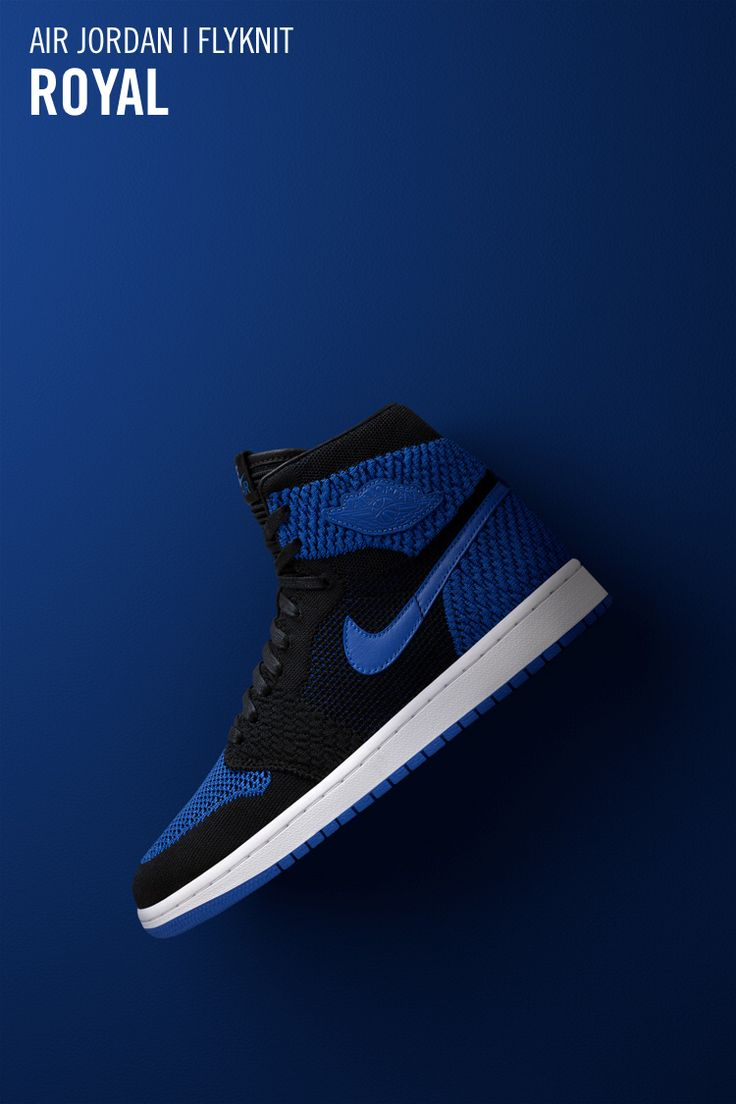 Via Nike SNKRS: https://www.nike.com/us/launch/t/air-jordan-1-retro-high-flyknit-black-game-royal?sitesrc=snkrsIosShare