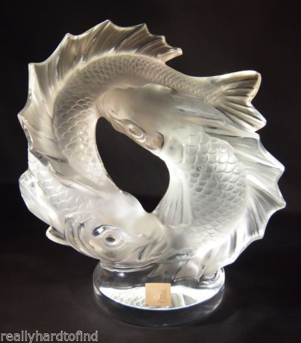 17 best images about lalique figurines on pinterest for Coy poisson