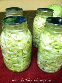 How to can cabbage! I want to make a bunch of this during the summer.