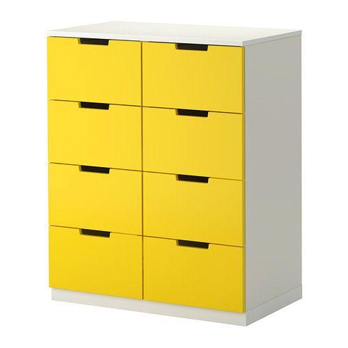 Ikea nordli kommode mit 8 schubladen kann nach for Ikea schubladen organizer
