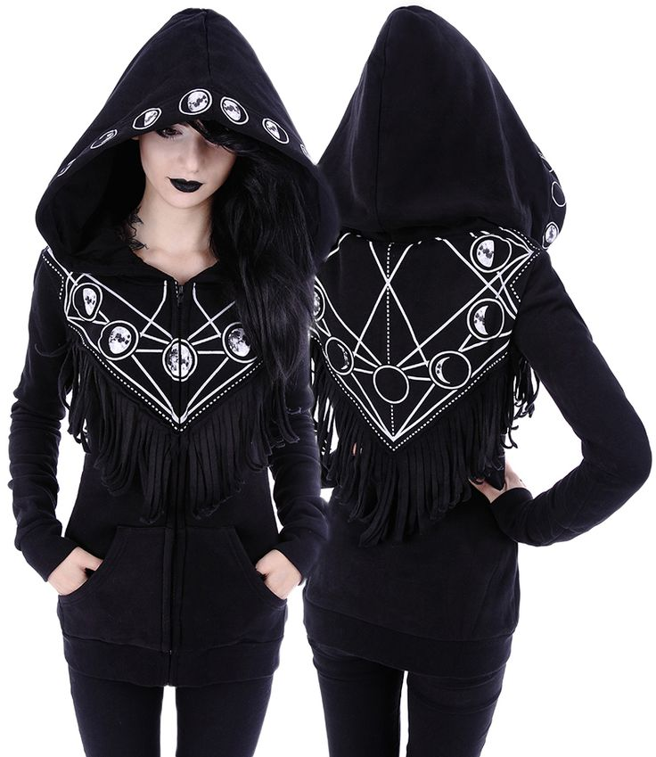 Restyle Moon Geometry Hooded Jacket - £44.99 : From ANGEL CLOTHING