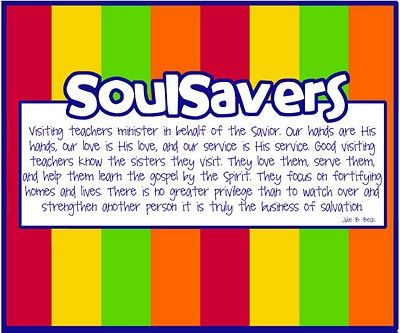 Noisy Pancakes: SoulSavers- Visiting Teaching Interview Treat