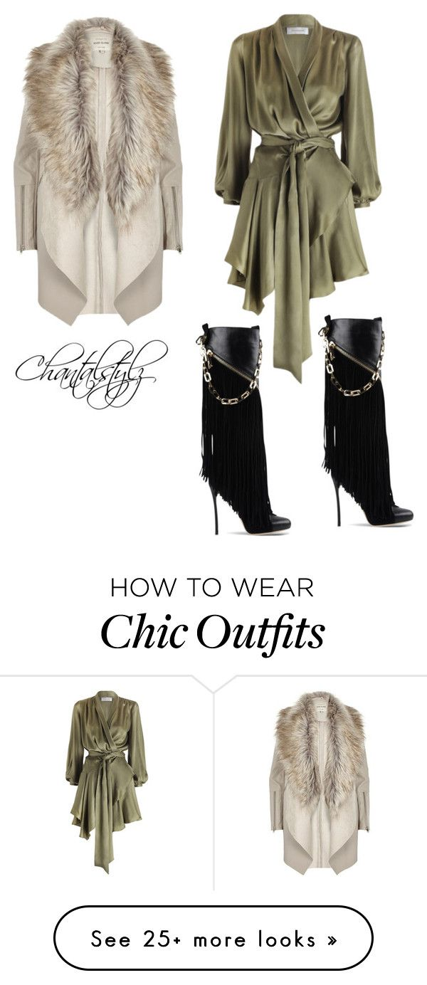 """Fashion Chic"" by chantalstylz on Polyvore featuring Zimmermann, Dsquared2 and River Island"
