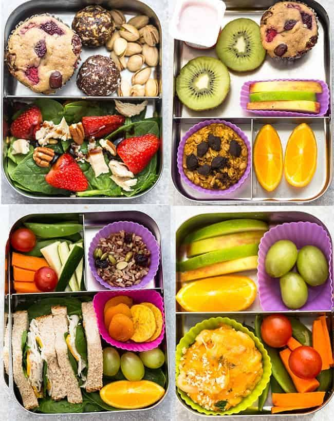 6 Healthy School Lunches Easy Kid Friendly That Are Perfect For Picking Eaters To Start The New Year B Healthy School Lunches Healthy Lunch Healthy Snacks