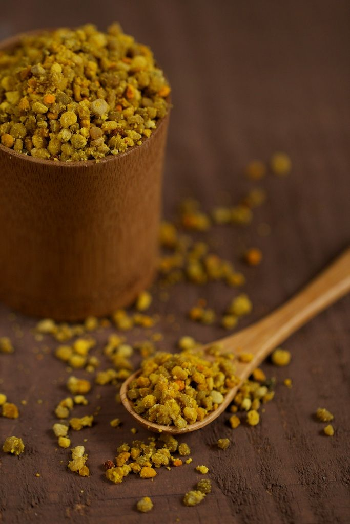 Bee pollen...increases energy, boosts immune system, cures allergies, antioxidants and more!