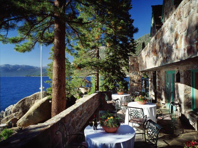 Thunderbird Lodge on Lake Tahoe :: Patio