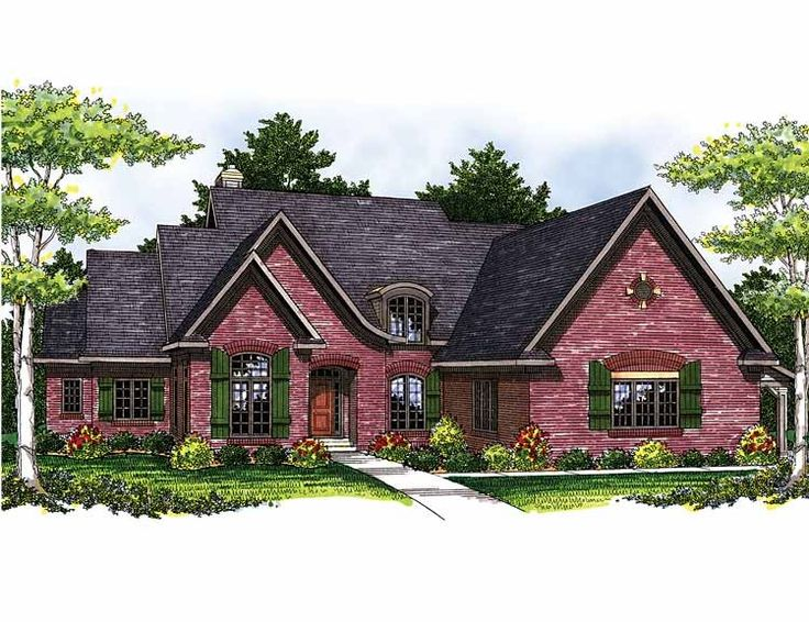 European House Plan With 3251 Square Feet And 4 Bedrooms From Dream Home  Source | House