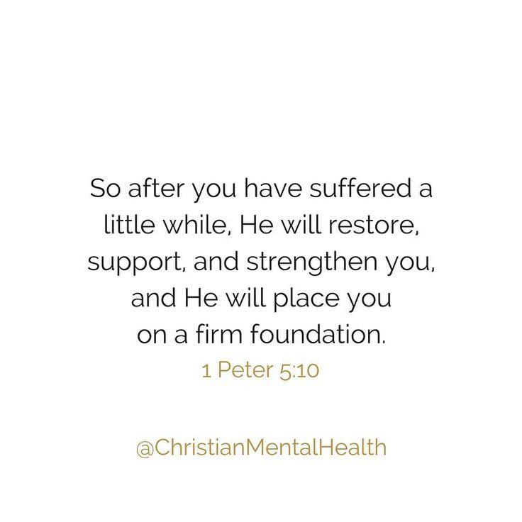 Follow @ChristianMentalHealth on Instagram!