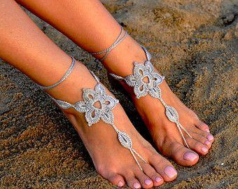 Barefoot Sandals barefoot sandlesBeach Wedding di MaryKCreation
