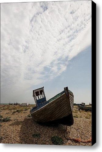 Old Fishing Boats Canvas Print / Canvas Art - Artist Dawn OConnor by Fine Art America, http://www.amazon.com/gp/product/B009LAQOBE/ref=cm_sw_r_pi_alp_oSPOqb1M3CR6B