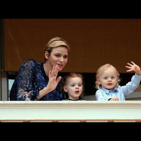 Charlene, Jacques and Gabriella at the Traditional Celebrations for Saint John the Baptist's Day Link in bio #royalfashionchannel #princessgabriella #princejacques #princesscharlene #princesagabriellademonaco #principejacquesdemonaco #princessecharlene #princessegabriella