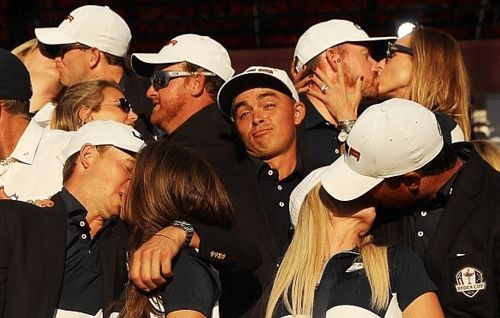 Rickie Fowler getting no love at the Ryder Cup (GOLF) #funny #pics #photos http://ibeebz.com