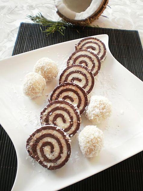 Rulada de biscuiti si cocos