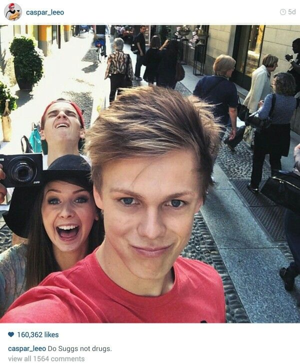 Caspar Lee, Zoe Sugg and Joe Sugg