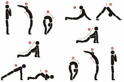 30 best images about sun salutations on pinterest  yoga