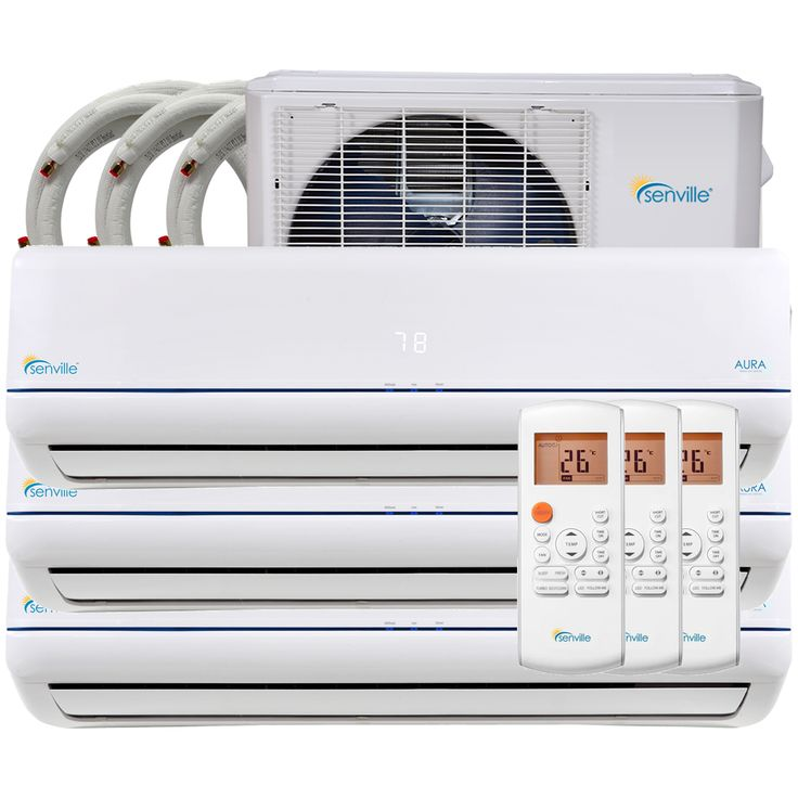 28000 btu trizone mini split air conditioner heat pump