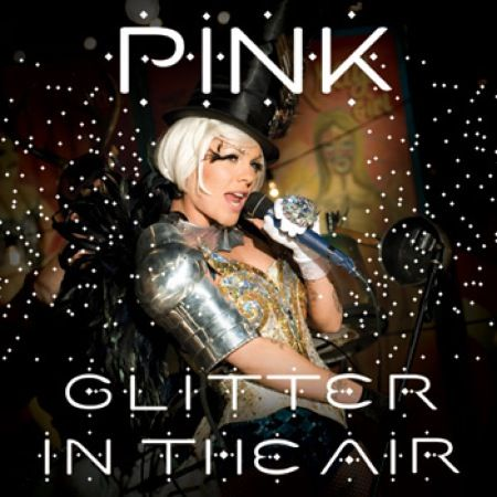 Pink Glitter in the Air Single Cover - Celebrity VIP Lounge