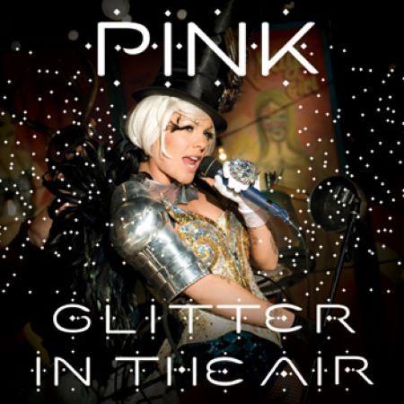 Pink fistful of glitter