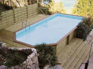 7 best images about opbouw zwembaden on pinterest - Klein zwembad in de kleine tuin ...