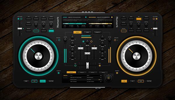 DJ Midi Controller by Emile Rohlandt, via Behance