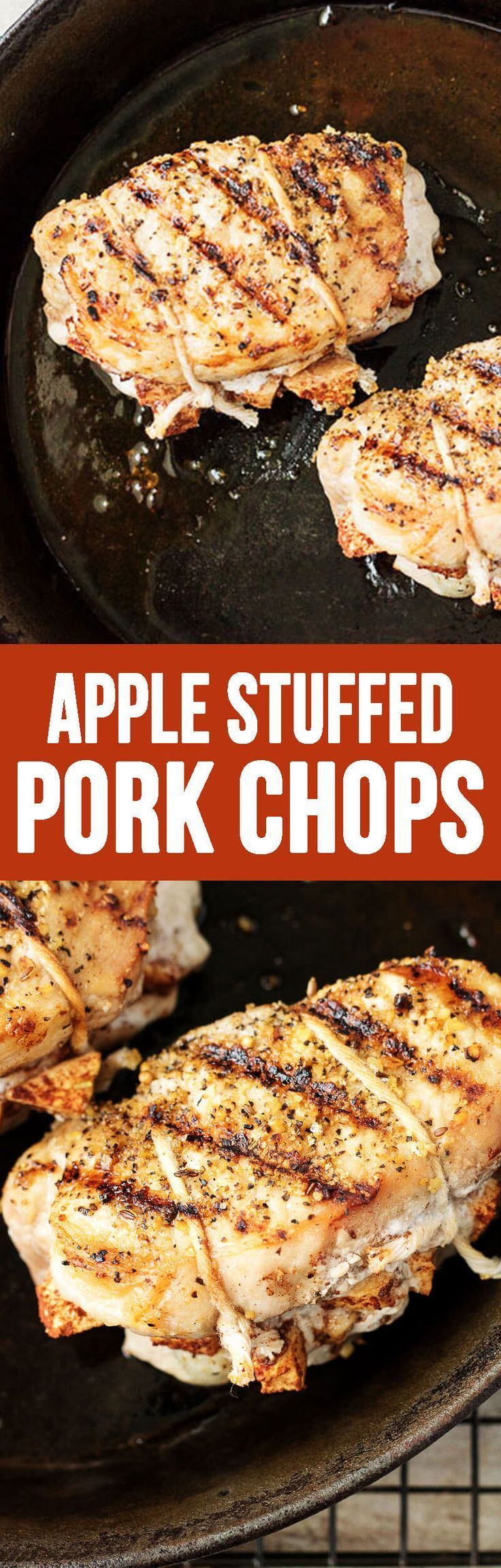 Savory Apple Stuffed Pork Chops will be a new family favorite!