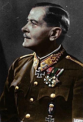 Vitéz Jány Gusztáv Vezérezredes (General)