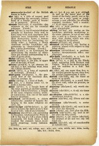"Vintage ""Sister"" Dictionary Page ~ A great embellishment for your heritage page."