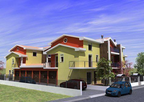 realizzazione 6 case aschiera, Chioggia, 2010 - Denis Rudellin