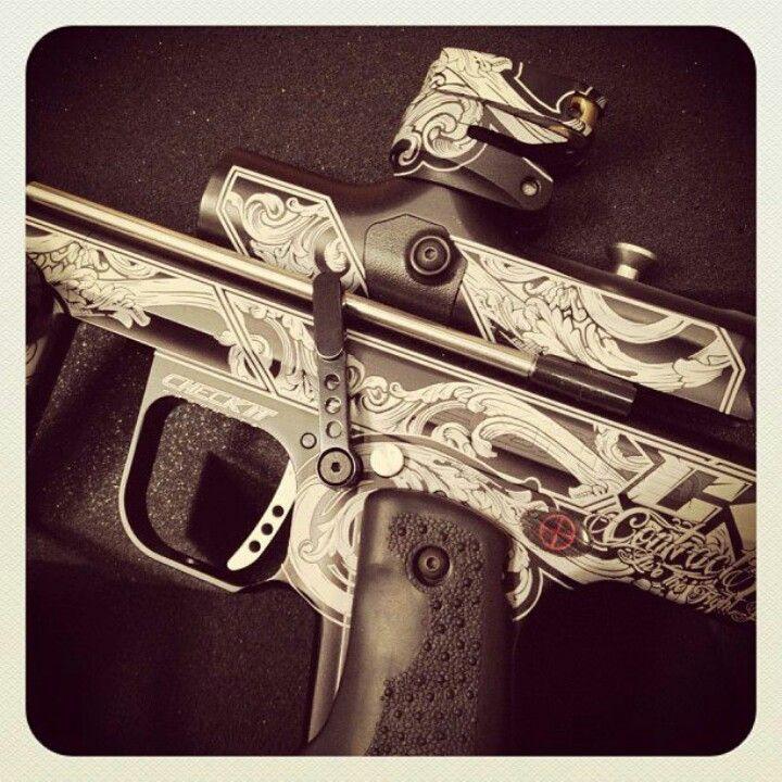Paintball gun <3 wanttt