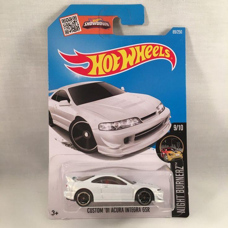 Hot Wheels Custom Acura Integra Gsr Honda Integra