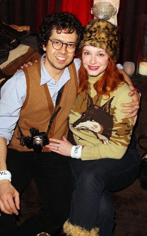 Джеффри Аренд и Кристина Хендрикс на вечере клуба Tao в рамках фестиваля Sundance-2012 (500×800)
