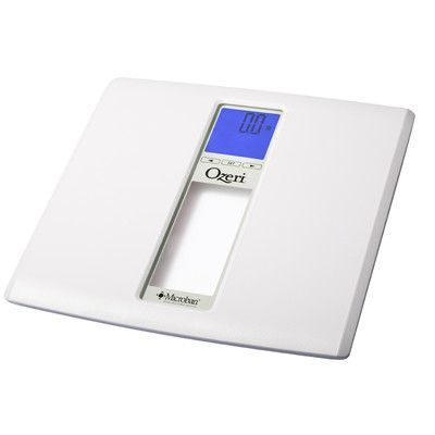 Ozeri WeightMaster II 440 lbs Digital Bath Scale with BMI and Weight Change Detection Color: White