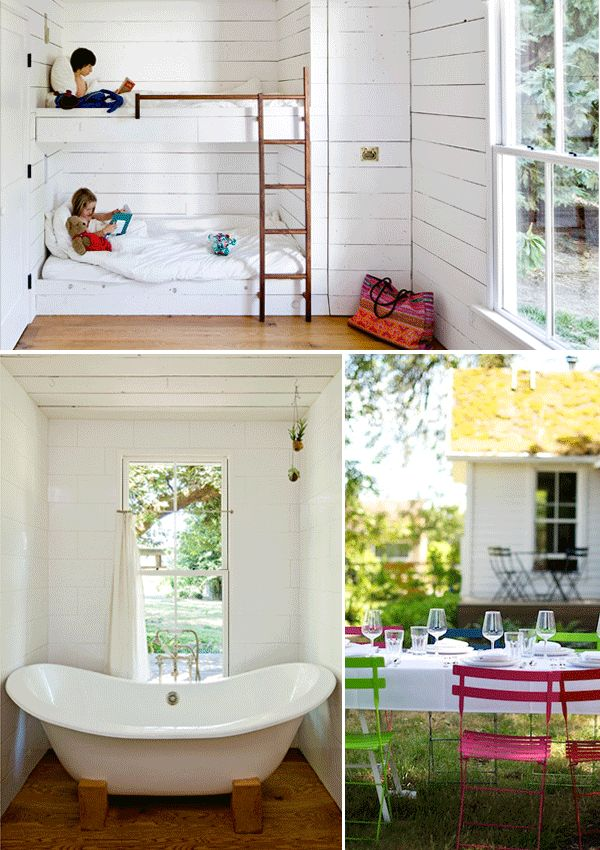 Build House Home: Jessica Helgerson - white bunk room