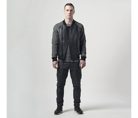 WINGS + HORNS - Hybrid leather bomber jacket. Made in Canada.