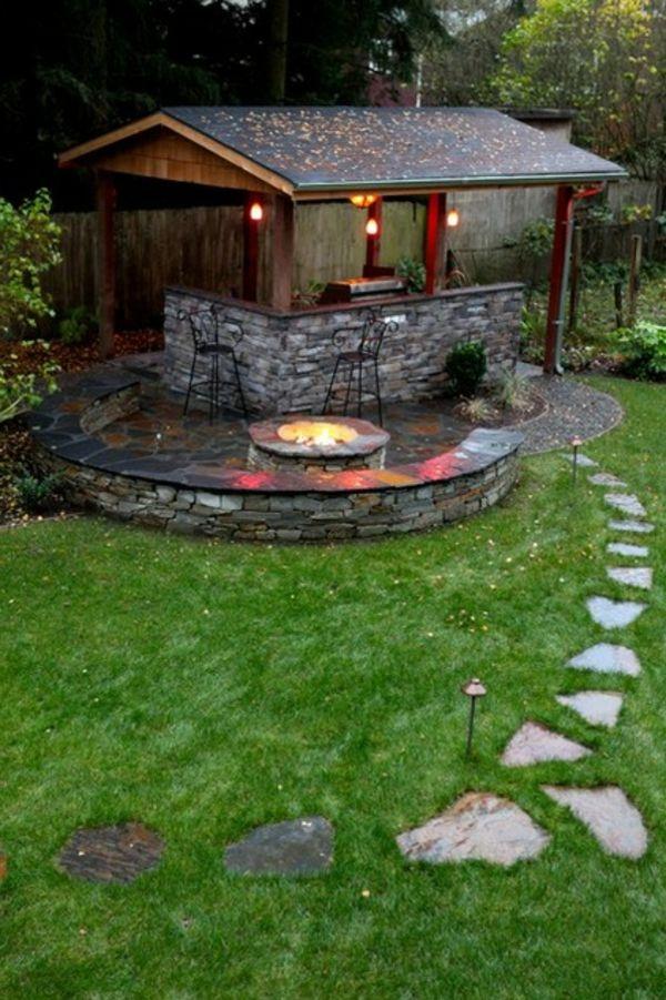 die besten 17 ideen zu feuerstelle im garten auf pinterest, Hause und Garten