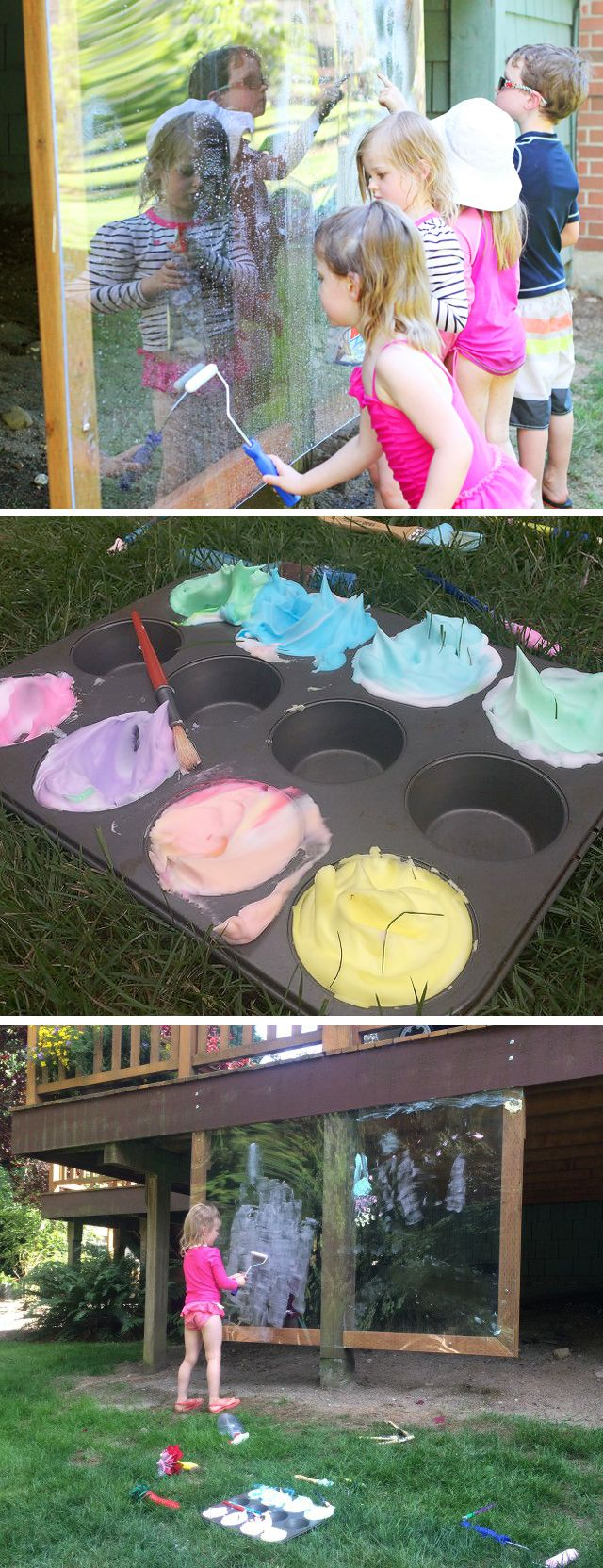 Homemade garden art ideas - The Hubby And I Have Been On A Serious Diy Kick Around Here Lately And Today Outdoor Paintingoutdoor Artoutdoor