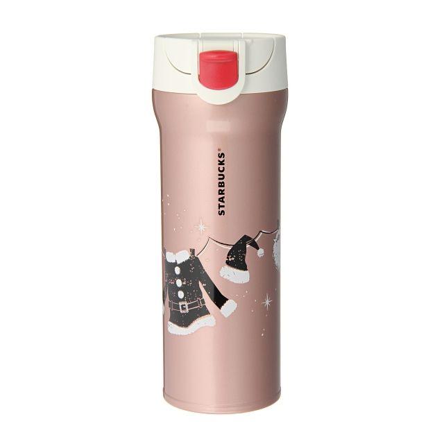 スターバックス コーヒー ジャパンのハンディーステンレスタンブラーサンタローズピンクについてご紹介します。