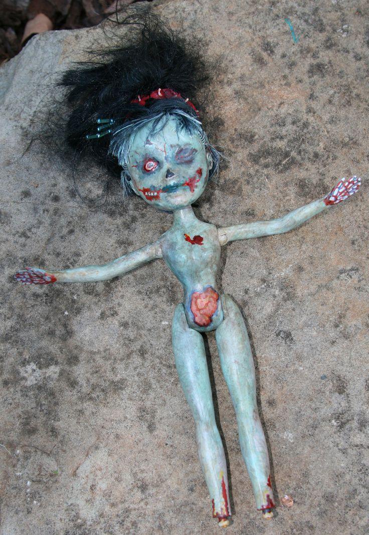 Poor Bratz' 2016 by Rebecca Edwards using a 'Japanese' Bratz doll ...