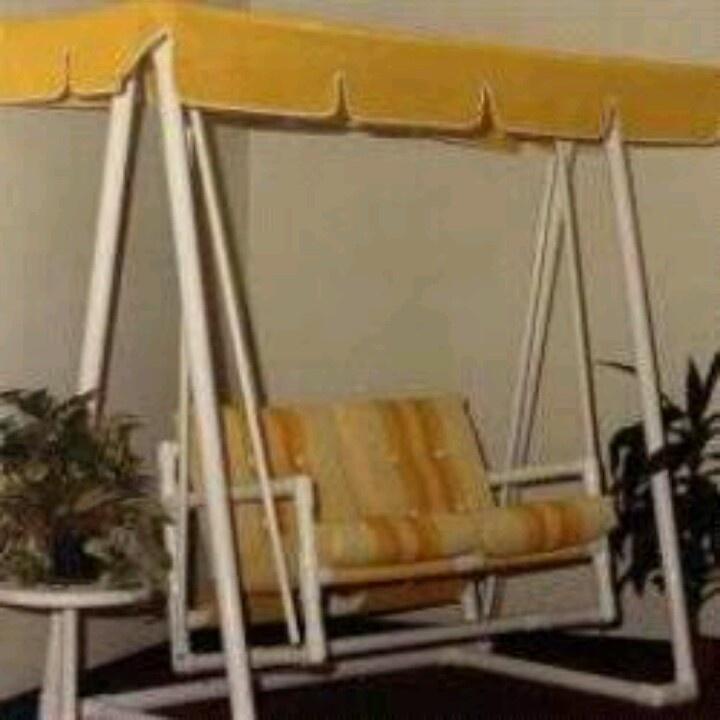 Pvc Swing Pipe Furniture Pinterest